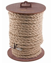 Джутовая веревка для шибари на катушке 20 м