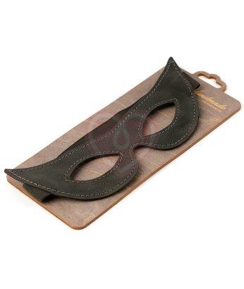 Открытая заостренная маска из натуральной кожи Crazy Handmade