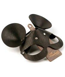 Кожаная маска с ушками мышки Crazy Handmade