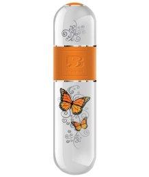 Вибропуля Onye белая с бабочками