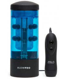 Автоматический мастурбатор со стимулирующими шариками Zolo Blowpro