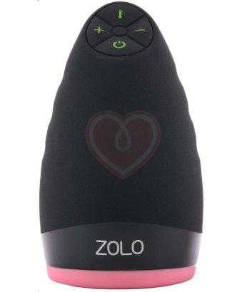 Компактный мастурбатор Zolo Warming Dome с нагревом и вибрацией
