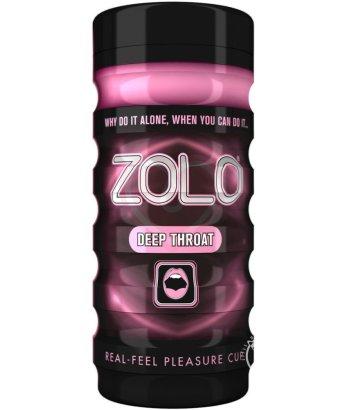 Мастурбатор с эффектом орального секса Zolo Deep Throat Cup