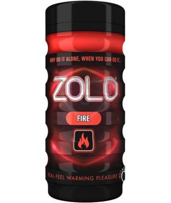 Мастурбатор с разогревающей смазкой Zolo Fire Cup