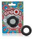Эрекционное кольцо Screaming O Ringo черное