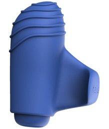 Мини-вибратор Bteased Basic Finger Vibrator синий