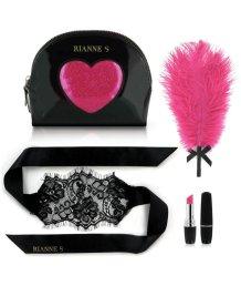 Набор романтичных мини-игрушек Rianne S Kit d'Amour с черной сумочкой