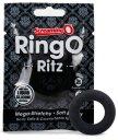 Эрекционное кольцо RingO Ritz черное