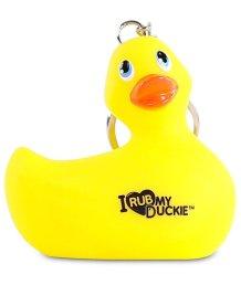 Брелок-уточка I Rub My Duckie желтый