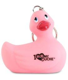 Брелок-уточка I Rub My Duckie розовый