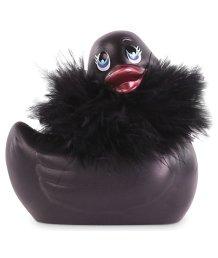 Вибромассажер уточка I Rub My Duckie 2.0 Black Travel Size черная