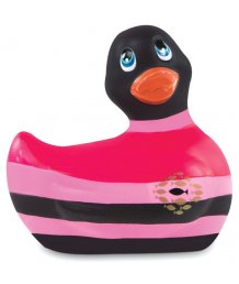 Вибромассажер уточка I Rub My Duckie 2.0 в полоску
