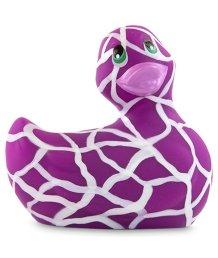 Вибромассажер уточка I Rub My Duckie 2.0 Wild фиолетовая
