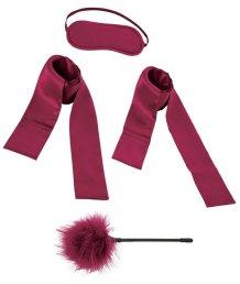 Набор из 2 лент, маски и щекоталки Enchanted Starter Kit