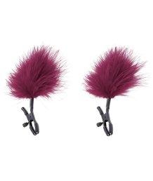 Зажимы для сосков с перьями Enchanted Feather Nipple Clamps
