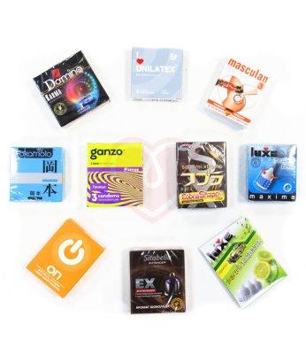 Набор из 10 лучших презервативов по мнению Фрейда