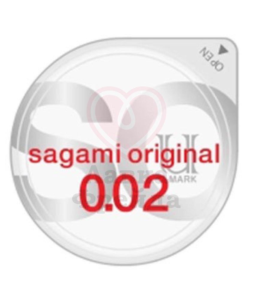Ультратонкие полиуретановые презервативы Sagami Original