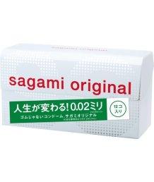 Ультратонкие полиуретановые презервативы Sagami Original 002 12шт