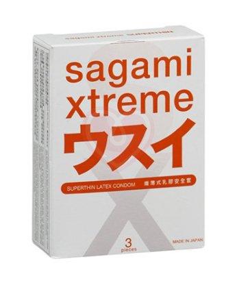 Презервативы Sagami Xtreme 004 ультратонкие 3шт