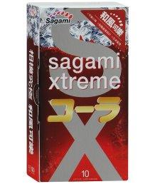 Презервативы Sagami Xtreme Cola со вкусом колы 10шт