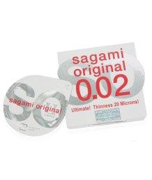 Ультратонкий полиуретановый презерватив Sagami Original 002 1шт