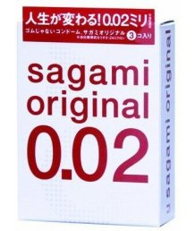 Ультратонкие полиуретановые презервативы Sagami Original 002 3шт