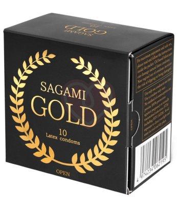 Презервативы Sagami Gold 10 шт