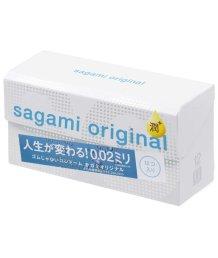 Полиуретановые презервативы Sagami Original 002 с дополнительной смазкой 12шт