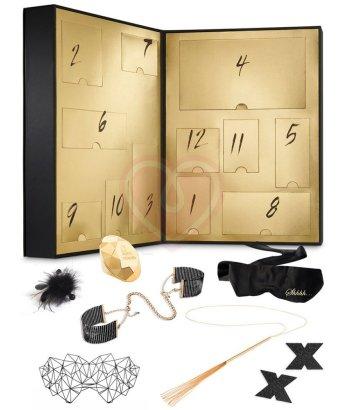 Адвент-календарь с набором игрушек Bijoux Indiscrets 12 Sexy Days