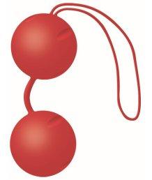 Вагинальные шарики Joyballs Trend матовые красные