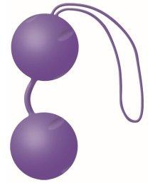 Вагинальные шарики Joyballs Trend матовые фиолетовые