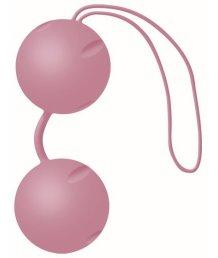 Вагинальные шарики Joyballs Trend матовые розовые
