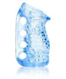 Мастурбатор-кастет Fleshskin Grip Blue Ice