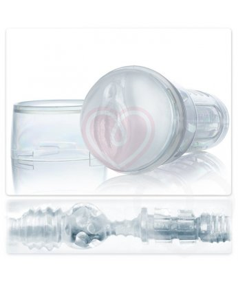 Мастурбатор Fleshlight Ice Lady Crystal вагина в прозрачном корпусе