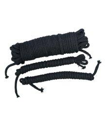 Набор хлопковых веревок для связывания Bad Kitty Exotic Wear Bondage черные