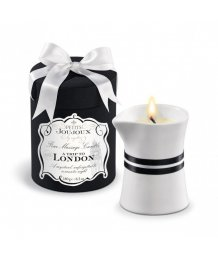 Массажная свеча Mystim Petits Joujoux London Амбра и смородина 190 г