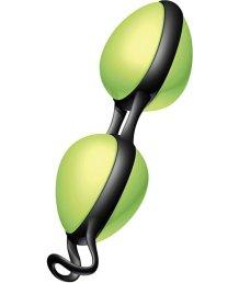 Вагинальные шарики Joyballs secret зеленые
