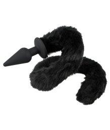 Анальная пробка с хвостиком Вad Kitty Plug and Tail