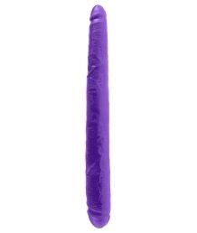 Фаллоимитатор двухсторонний гибкий Dillio Double 43 см фиолетовый