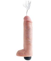 Фаллоимитатор с эффектом семяизвержения Squirting Cock 20 см