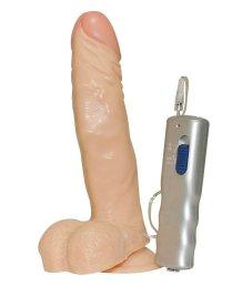 Страпон с реалистичным вибратором на трусиках Gigolina