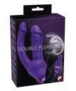 Вибратор анально-вагинальный Double Pleasure Vibe фиолетовый
