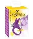 Виброкольцо со стимулятором клитора Smile Rabbit фиолетовое