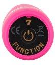 Рельефный вибратор You2Toys Deep Vibrations розовый