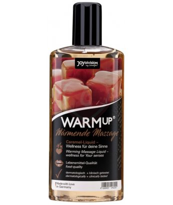 Съедобное разогревающее массажное масло WarmUp Карамель 150мл