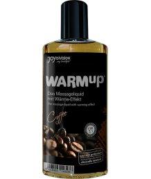 Съедобное разогревающее массажное масло WarmUp Кофе 150мл