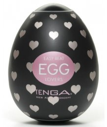 Мастурбатор в форме яйца Tenga Egg Lovers black