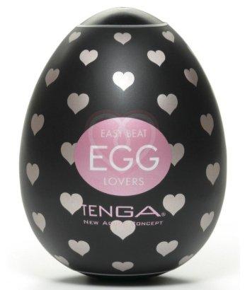 Мощный мастурбатор в форме яйца Tenga Egg Lovers black