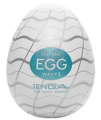 Мастурбатор яйцо Tenga Wavy II