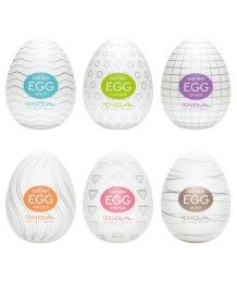 Набор мастурбаторов в форме яйца Tenga Eggs Set 6 шт